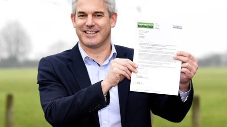 Steve Barclay MP with letter from FA regarding Estover Playing Field