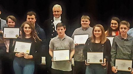 Eighteen children and teenagers from March were awarded for their determination to help in the local