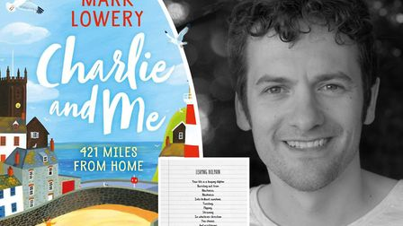 Ely St John's teacher, Mark Lowery, has released his seventh book Charlie and Me: 421 Miles from Hom