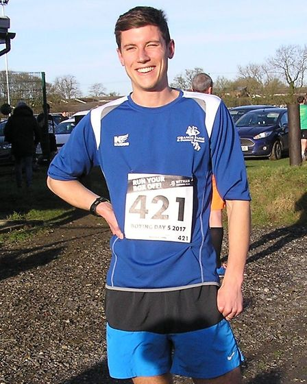 Jim Lurkins was first home for GFDR at the Boxing Day 5 at Witham