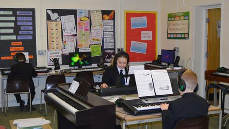 Free music tuition is being given at schools in Stansted