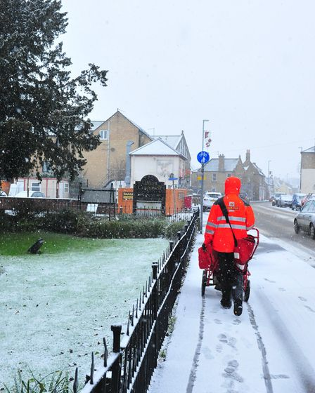 The delayed white Christmas in March on December 2017. PHOTO: Harry Rutter