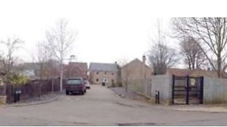 Emtrance to the Firs, Wilburton, where approval for a pair of homes was agreed at the third attempt