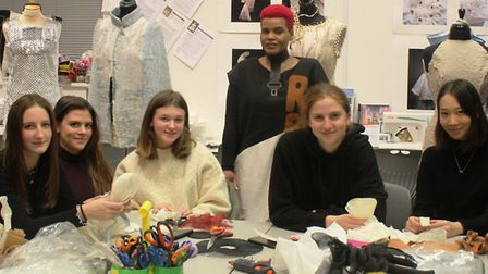 King's Ely students get creative with global fashion designer José Hendo