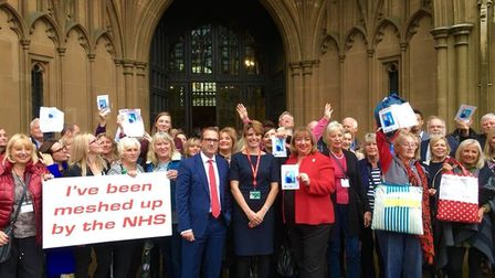 The House of Commons today debated the mesh scandal that affects thousands of women and have left ma