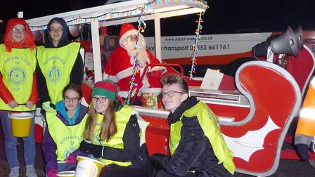 The Ely Rotary Club has raised over £7,300 with their Christmas collection.