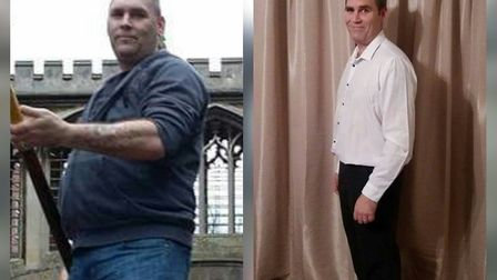 Nik Penn is launching his Slimming World at March on Thursday evenings
