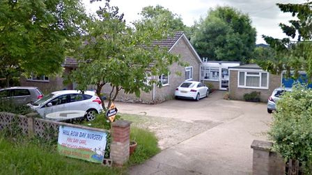 Hill Row Day Nursery in Haddenham, Ely have received a 'good' report from Ofsted. Photo: Google