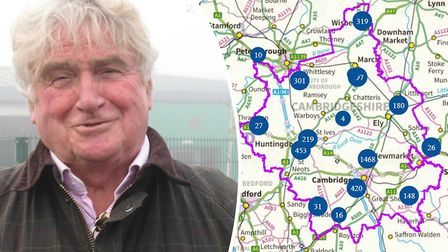 Councillor Bill Hunt, vice chairman of the county council highways and community infrastructure, on