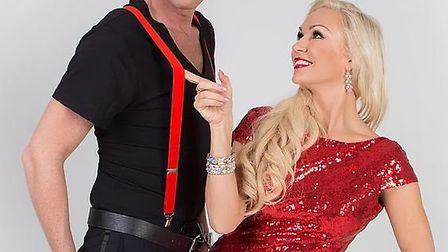 Joining Kristina is a full cast of dancers, plus X Factor finalist Chris Maloney