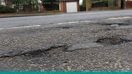 MP Steve Barclay sent out a photographer to find potholes in the NE Cambs constituency. It didn't ta