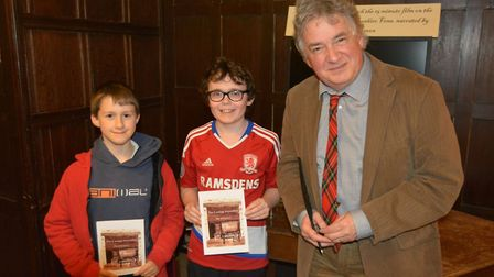 David Learner spoke about his life as an actor and his sweetshop in Ely while signing copies of his