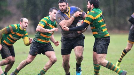 Jacob Muncey powers through the Crusaders defence