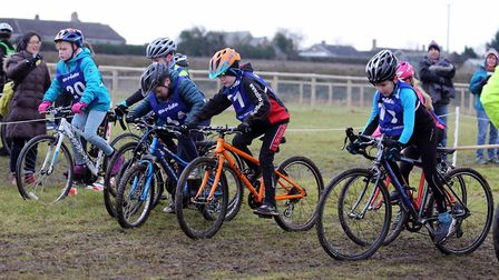 The start of the Under 10s Endurance race