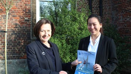 King's Ely Sixth Form student Lynn Jakkaichawadol is preparing for the challenge of a lifetime. She