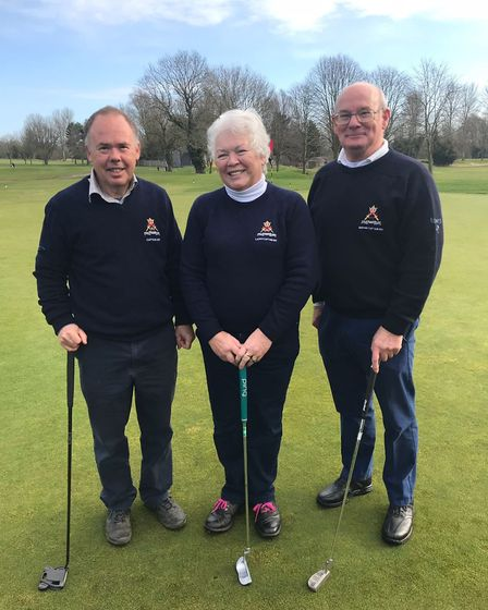 2017 captains putting out - Ely Golf Club captains raise over £7,000 for the Addenbrooke's stroke wa