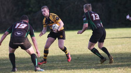 Ely Tigers beat Newmarket 52-17. Photo: Ely Tigers