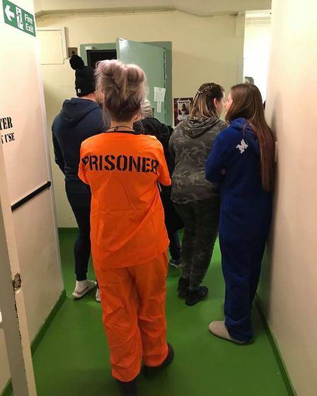 March Police station cell block sleepover to raise money for Amelia Martin to have pioneering cancer