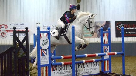 Equestrian success for King's Ely student Katie Cameron