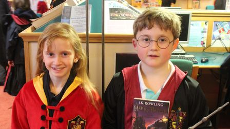King's Ely's Harry Potter fans donned their finest costumes for an afternoon of Hogwarts-themed fun
