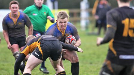 Nathan Brooks for Ely Tigers PHOTO: Steve Wells