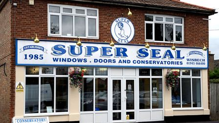 Visit home improvement firm Super Seal's showroom on Lynn Road in Wisbech for free advice.