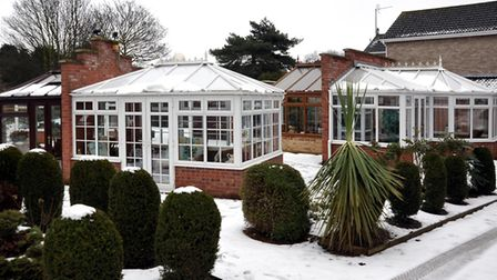 The showgarden at Super Seal on Lynn Road in Wisbech gives customers the chance to see some of the f