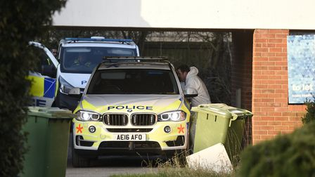 House in Mayfly Close, Chatteris, being searched. Police have confirmed it is in connection with the