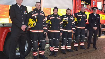 Cambs Fire welcomes new on-call recruits