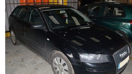 Officers are keen to speak to anyone who saw this black Audi A3 in Huntingdon in the evening of Wedn