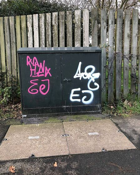 A case of who dunnit but East Cambs Police urge Facebook readers not to name and shame culprits publ