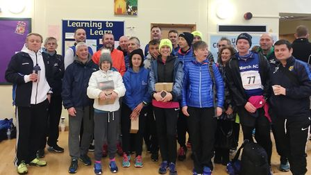 March AC had 27 runners complete the gruelling 15 mile road race in Folksworth