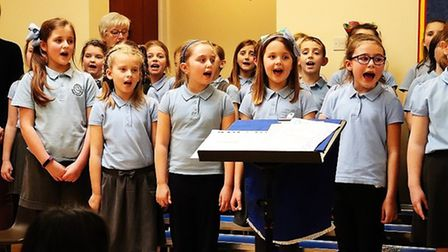 Arts award ceremony at Cavalry Primary School in March
