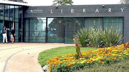 March Library: one of 32 libraries across the county to start charging £1 an hour fo computer use. T