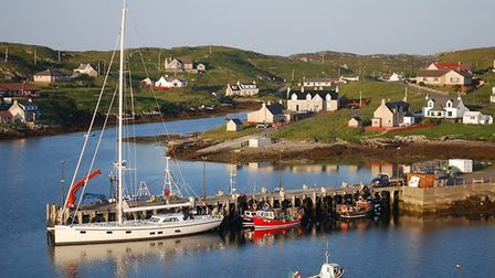 Scalpay, Outer Hebrides where a message in a bottle containing the ashes of a young woman who wanted