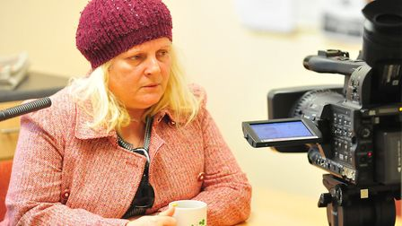 Ruth Neave talking exclusively to the Cambs Times after the 30th birthday of her murdered son, Rikki