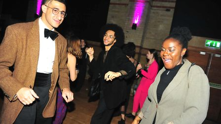 Cambridge University Charity Fashion Show held at the Corn Exchange. Photos: Harry Rutter