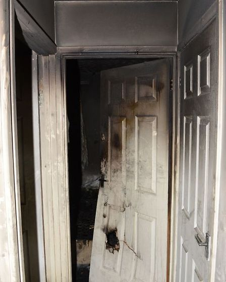 The court heard how neighbours alerted police and the fire service to a fire at the home in Willingh