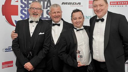 Chatteris-based engineering firm, Stainless Metalcraft, has scooped another award, this time for the
