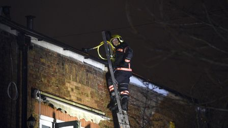 Occupants of a house in Victoria Road, Wisbech, are all thought to have escaped injury after a fire