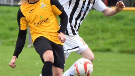 Jack Brand is March Town's leading scorer this season. Picture: IAN CARTER