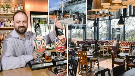 The Isle of Ely super stylish restaurant has opened its doors at the Ely Leisure Village today (Marc