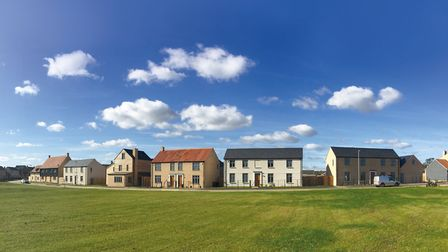 Manor Farm in Stretham where the next phase of the development will be launched next month