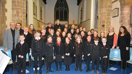 A musical delight at St Mary's Church in Ely saw two choirs come together for the first time to perf