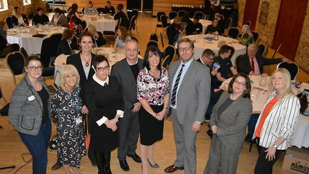 The first Apprenticeship Work Event organised by Enterprise East Cambs bringing together local busin