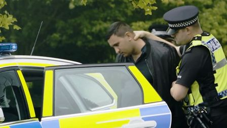 A shot from a film by GLAA to raise awareness of modern day slavery