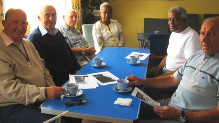 Members of the Isle of Ely Blind Society, which this year marks its 95th anniversary.