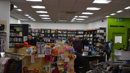New Oxfam shop in Ely. Photo: Mike Rouse