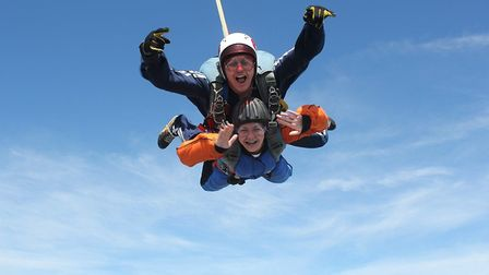 Feeling brave? Join the Team Arthur Skydive Jump Day on Sunday July 15 at Sibson Airfield near Peter