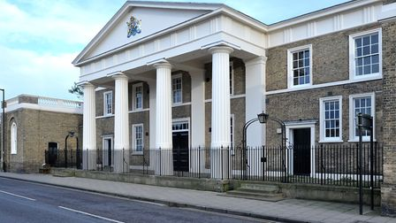 Old Ely Magistrates court building. Picture: Steve Williams.